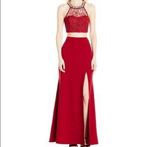 NEW My Michelle 2 piece prom dress